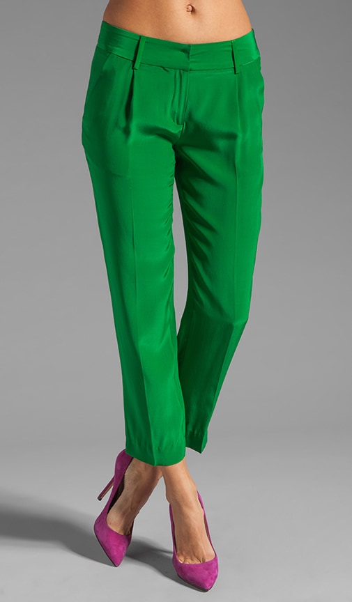Solid Silk Nicole Pant
