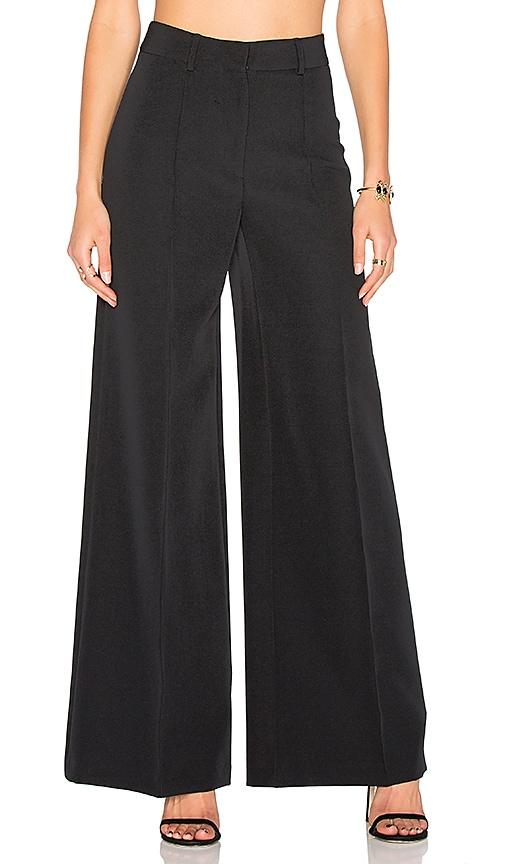MILLY Cady Hayden Pant in Black