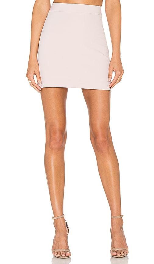 MILLY Modern Mini Skirt in Petal