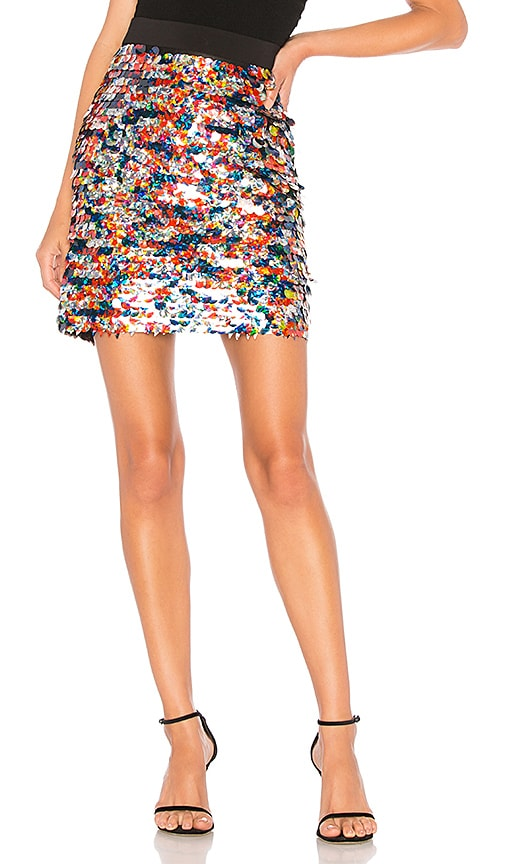 Sequin Modern Mini Skirt