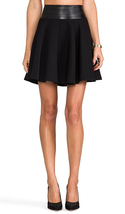 Doubleweave Twill Delphine Circle Skirt