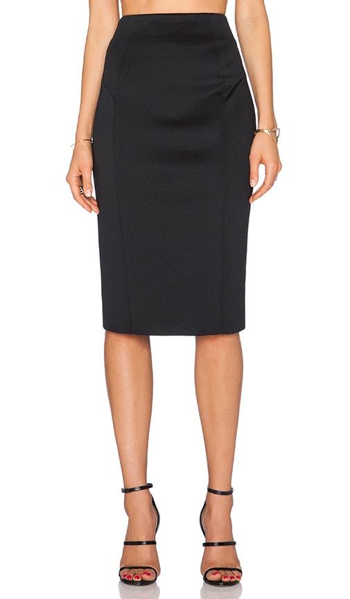 Tech High Waisted Pencil Skirt