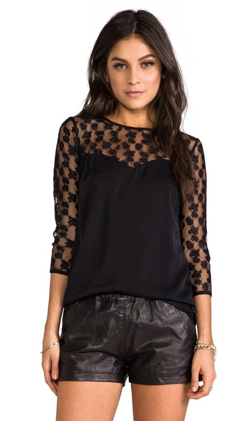 Cheetah Lurex Top