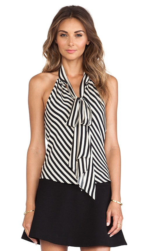 Royal Stripes Bow Halter