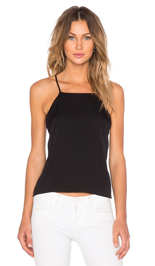 MILLY Trapeze Tank in Black