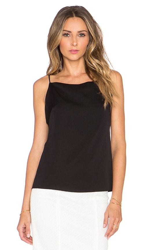 MILLY Square Tank in Black