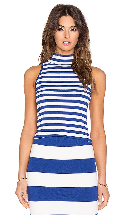 MILLY High Neck Tank in Blue