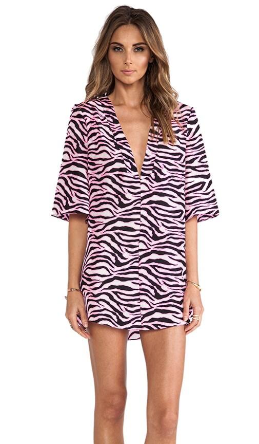 Capella Deep V Neck Tunic Dress