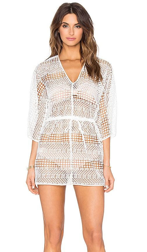 MILLY Savona Romper in White