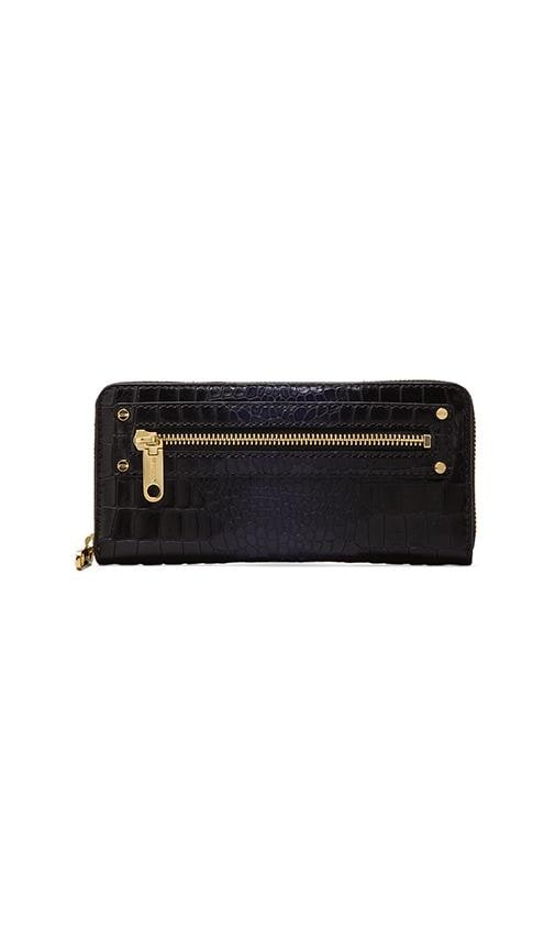 Callan Croc Collection Zip Around Wallet