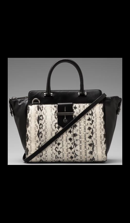 Makenna Watersnake Collection Tote