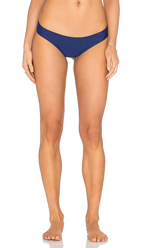 Mia Marcelle Nikki Bikini Bottom in Blue