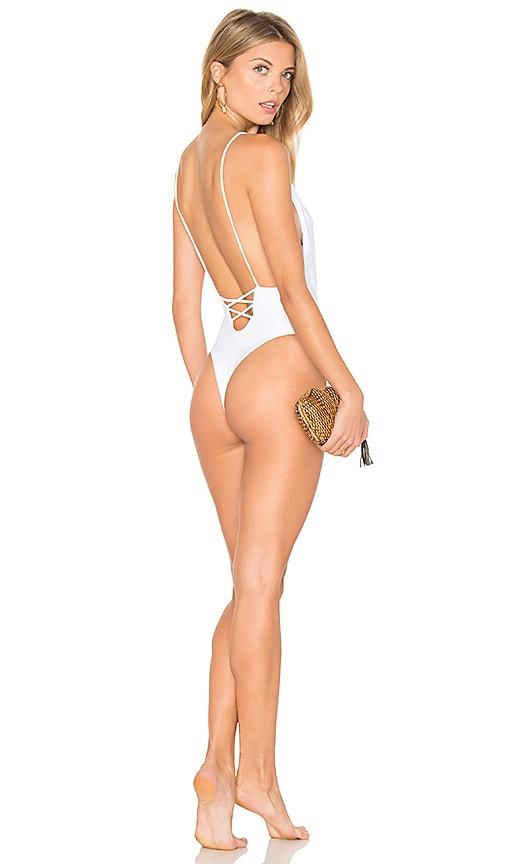 Mia Marcelle Lola One Piece in White