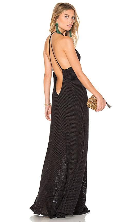 Mia Marcelle Shay Maxi Dress in Black