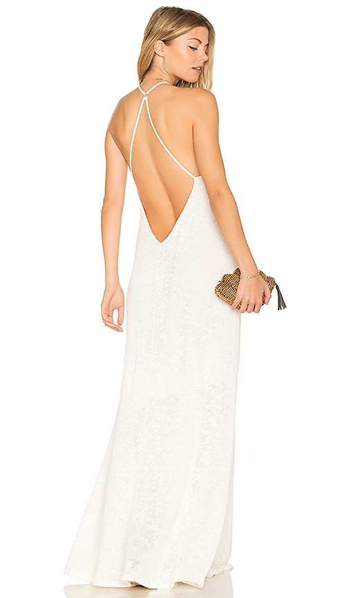 Mia Marcelle Shay Maxi Dress in White