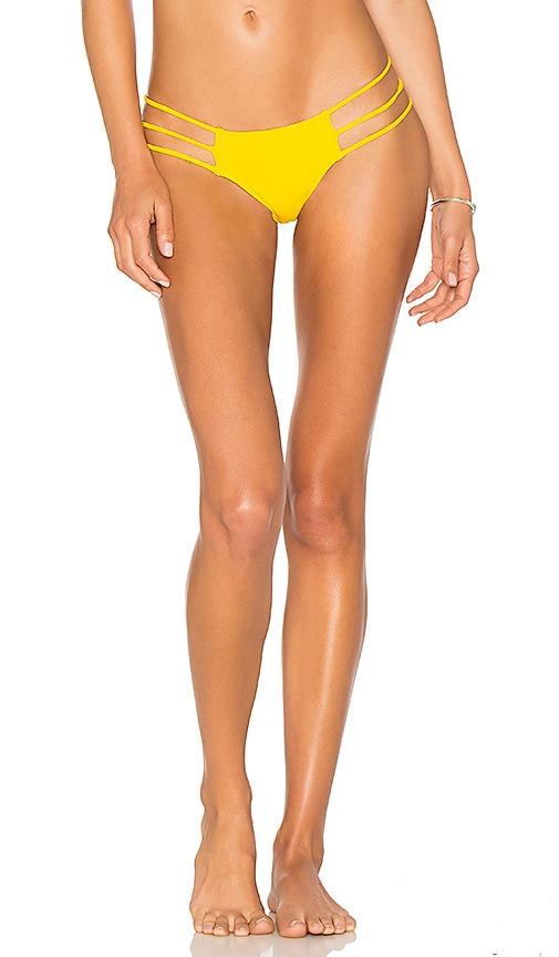 Mia Marcelle Reina Bottom in Yellow