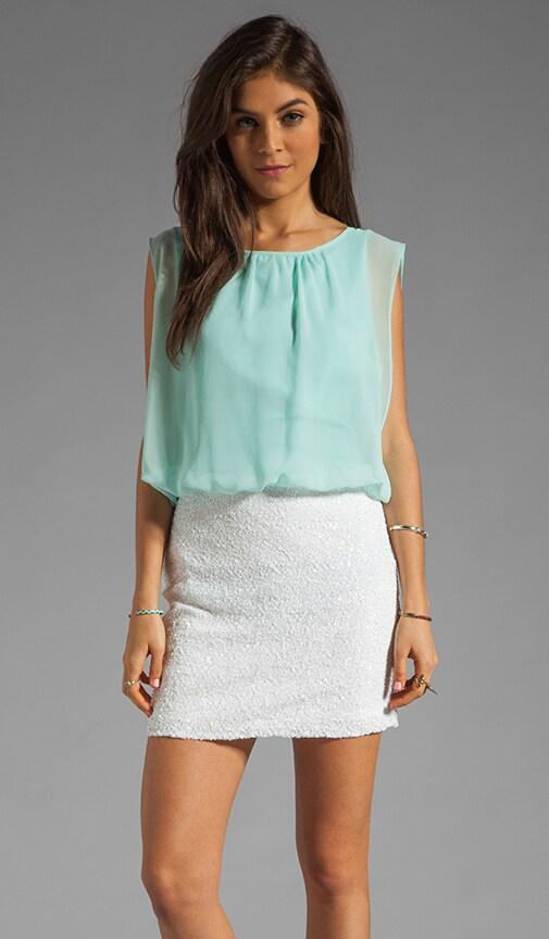 Chiffon Sequin Dress