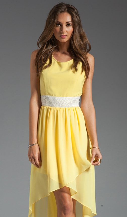 Sleeveless Hi Low Dress