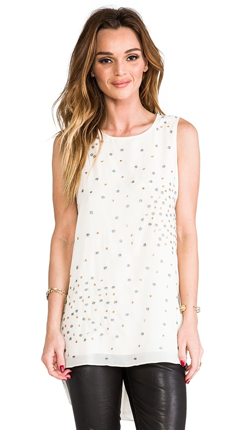 Sleeveless Top w/ Beading