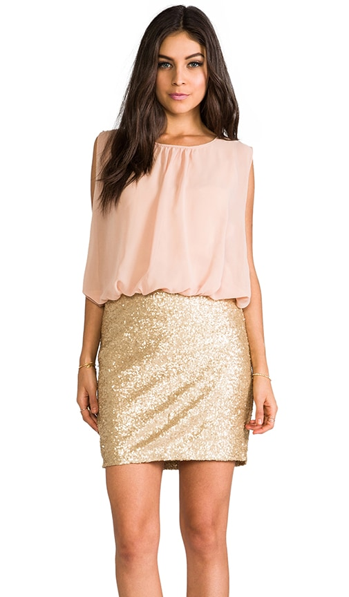 Sequin Bottom Dress