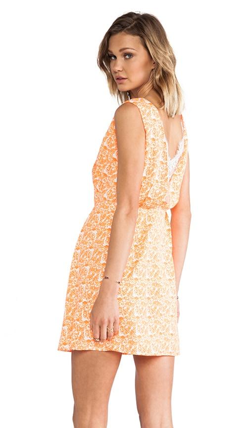 Back Lace Insert Dress