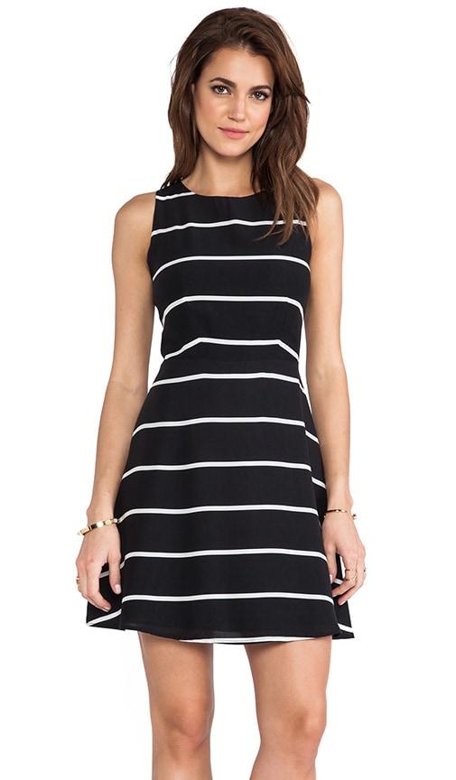 Stripe Sleeveless Dress