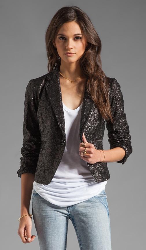 Allover Sequin Jacket