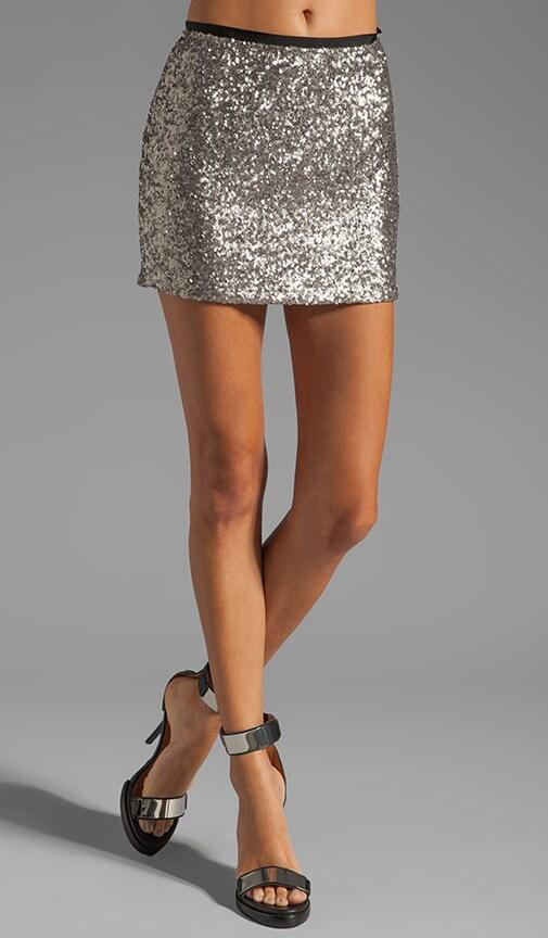 Short Sequin Skirt
