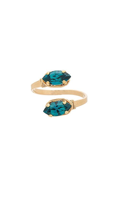 Mimi & Lu Scarlett Ring in Metallic Gold