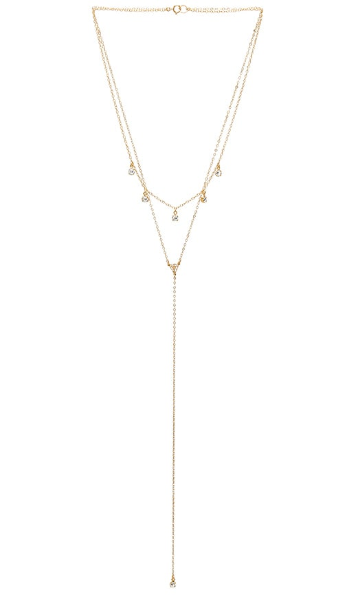 Mimi & Lu Calista Layered Necklace in Gold
