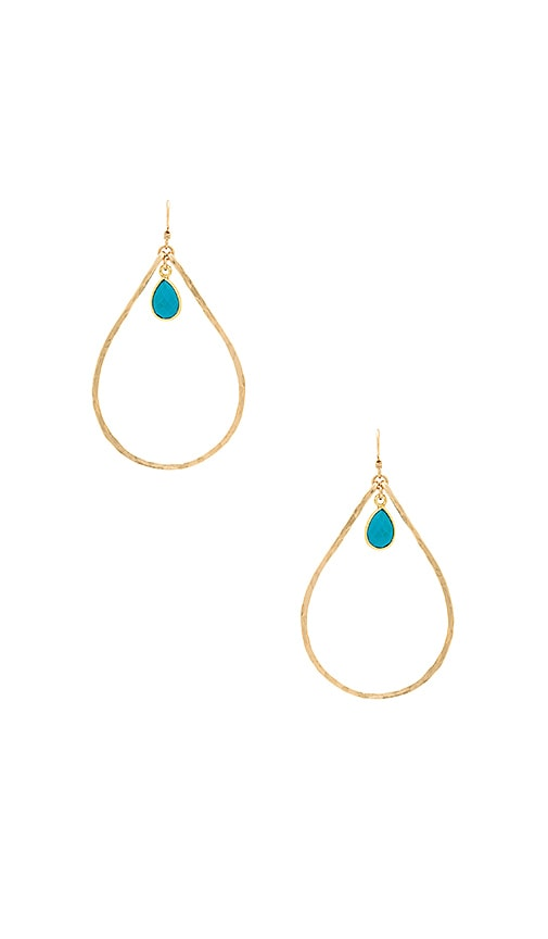 Mimi & Lu Jennifer Earrings in Gold