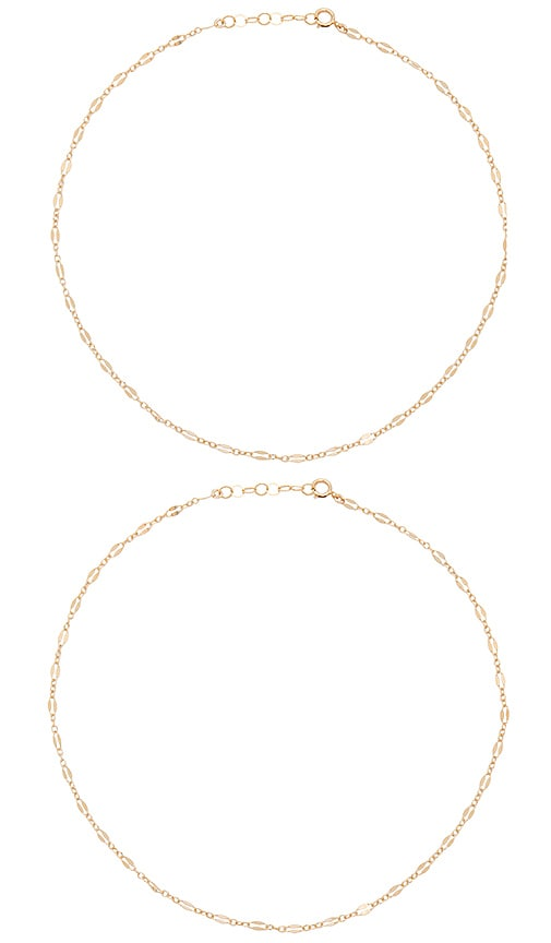 Mimi & Lu Mandaley Layered Necklace in Gold