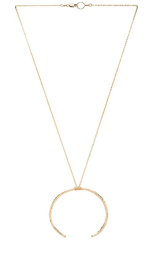 Mimi & Lu Branch Necklace in Metallic Gold