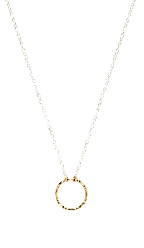 Mimi & Lu Always Necklace in Silver & Gold