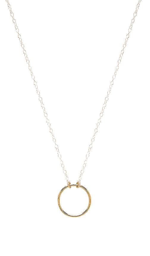 Mimi & Lu Always Necklace in Metallic Silver
