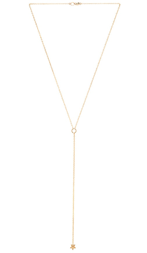 Mimi & Lu Falling Star Necklace in Gold