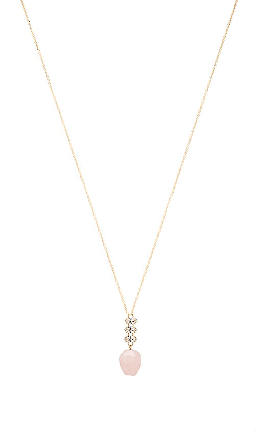 Mimi & Lu Nora Necklace in Metallic Gold
