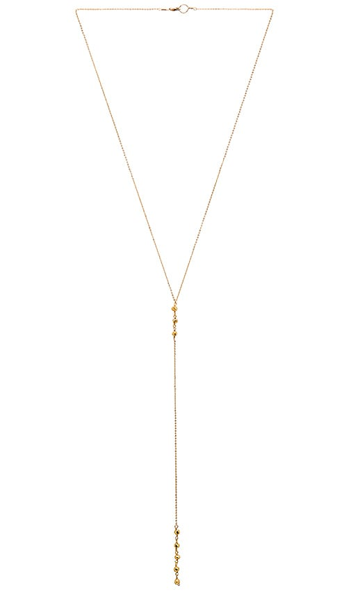 Mimi & Lu Cami Necklace in Metallic Gold