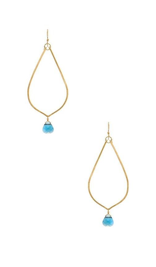 Jennifer Earrings in Gold Mimi & Lu OcEb5Zm