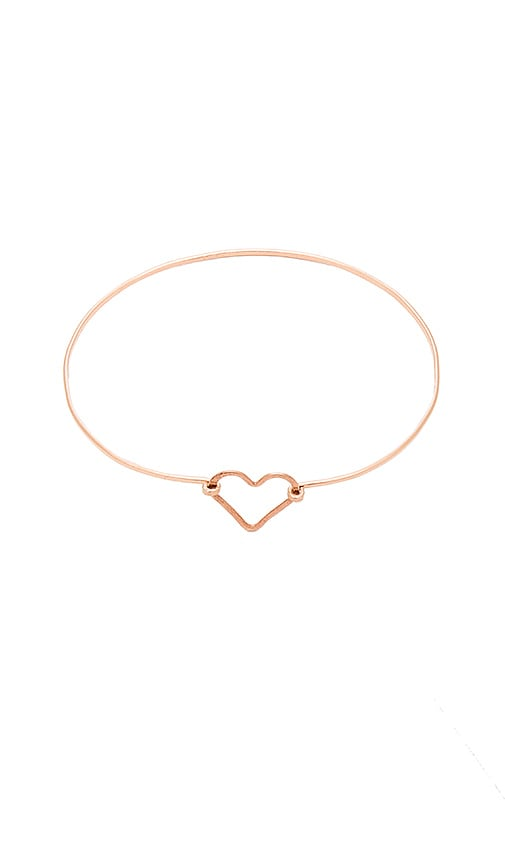 Mimi & Lu Kylie Bangle in Metallic Copper