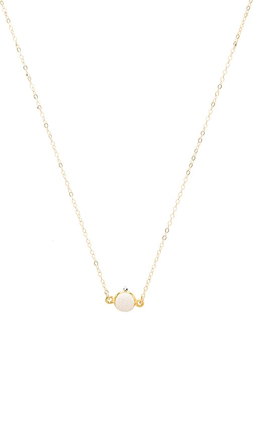 Mimi & Lu Sonia Necklace in Metallic Gold