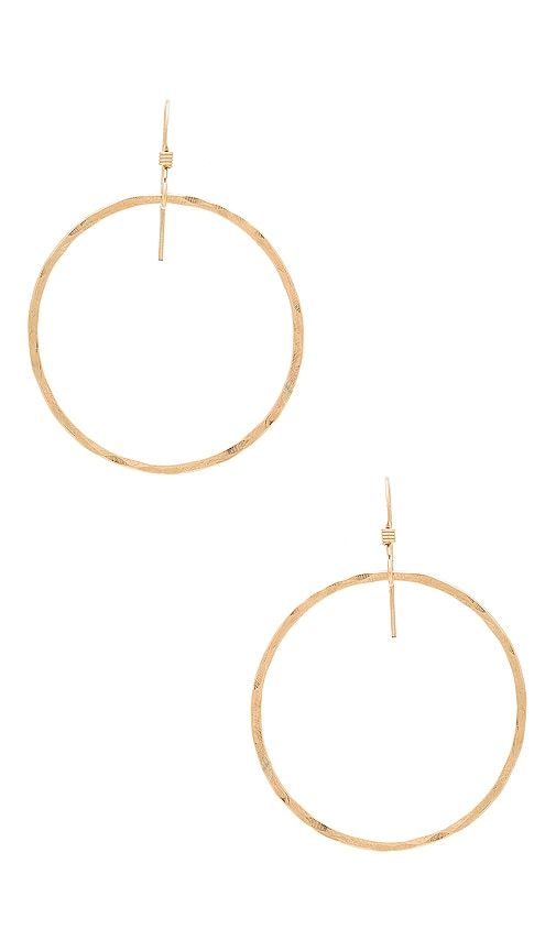 Mimi & Lu Jackson Earrings in Metallic Gold