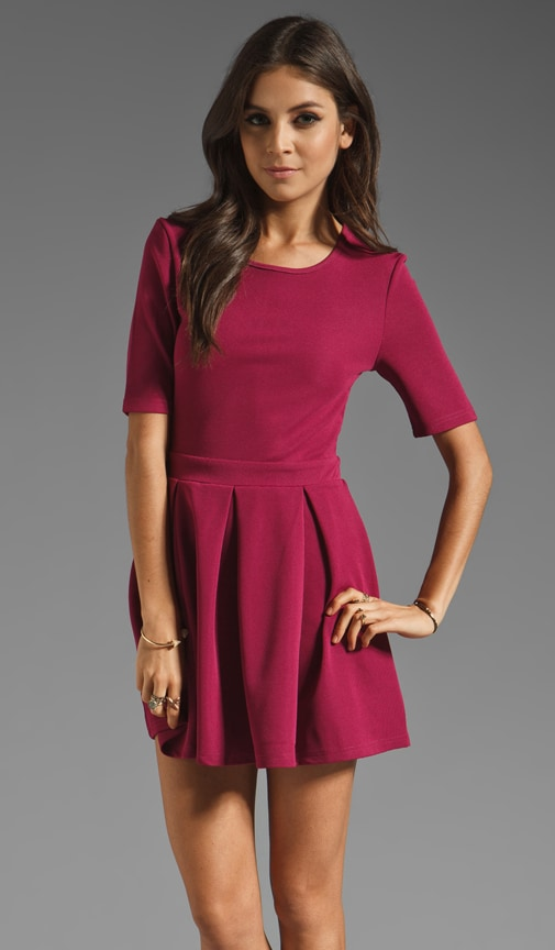 Pleat to Meet You Dress