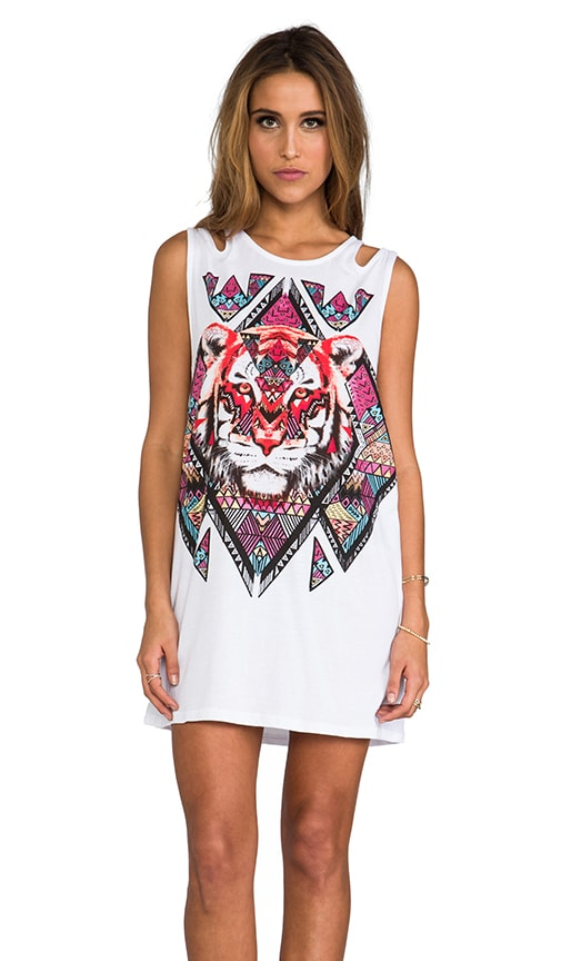Tiger Tribe Tunic Tank