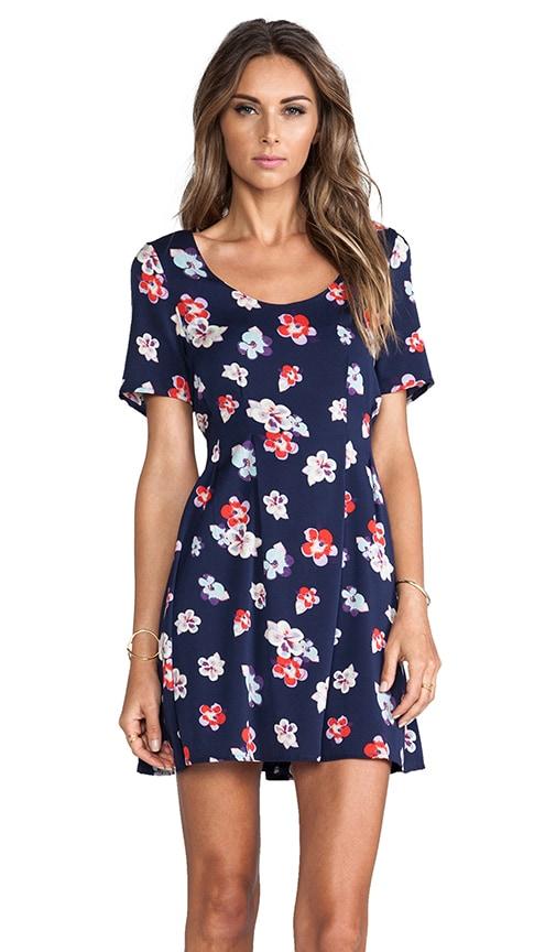 Sherbet Floral Dress