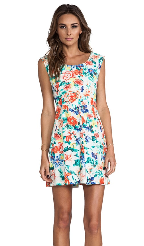 Flower Crush Box Pleat Dress