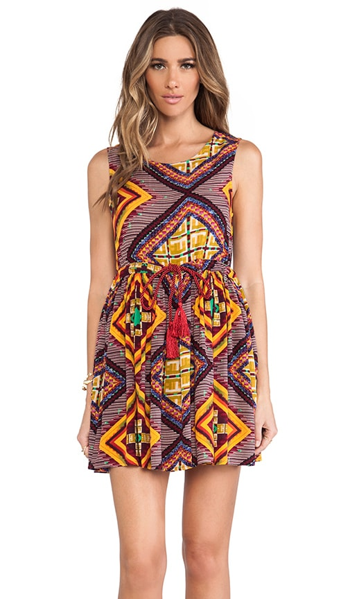 Moroccan Tile Dress