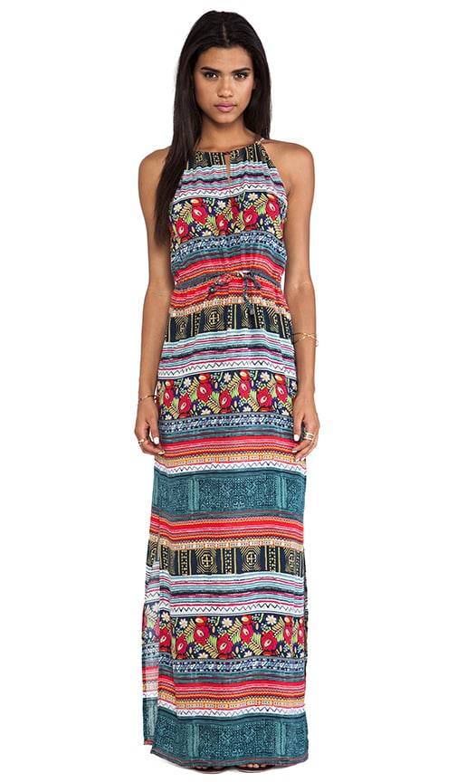 Folk Frenzy Maxi Dress