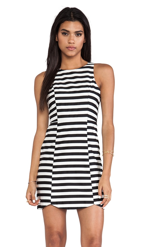 Monochrome Pop Dress