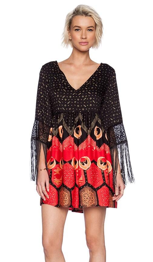 MINKPINK Dancing Crane Dress in Multi